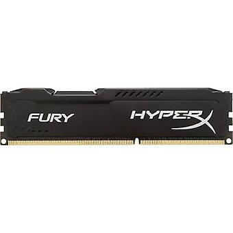 Memoria HyperX PC RAM Fury Black HX316C10FB/4 4 GB 1 x 4 GB di RAM DDR3 1600 MHz CL10 10/10/37