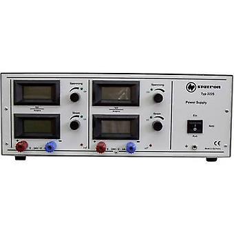 Statron 2225.2 Bank PSU (Einstellbare Spannung) 0 - 24 V 0 - 6 A 288 W-Nr. Ausgänge 2 X