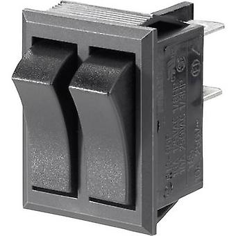 SCI Toggle switch R13-90PAA-01 250 V AC 10 A 2 x Off/On latch 1 pc(s)