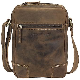 Greenburry vintage small leather shoulder bag shoulder bag 1832-25