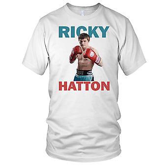 Leggenda del pugilato Ricky Hatton Kids T-Shirt