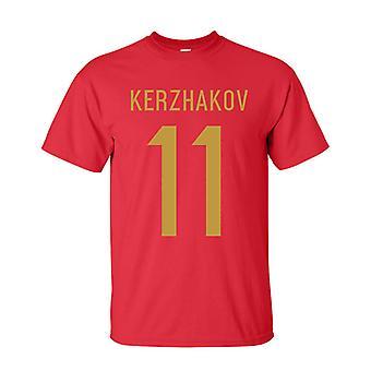 تي شيرت بطل روسيا ألكسندر خيرزاكوف (أحمر)