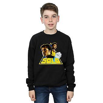 Star Wars gutter Solo Retro trekant Sweatshirt