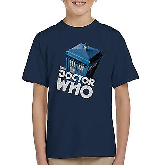 Doctor Who Classic Tardis Kid's T-Shirt