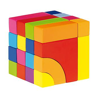Holzblock- und Jigsaw Puzzle-Farbe