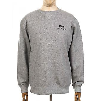 Edwin Jeans Base Sweatshirt - Grey Heather