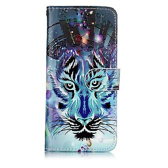 Samsung Galaxy S9 G960 Wallet Cover – felle dier