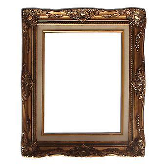 27,5x35 cm eller 11x14 tum, fotoram i guld
