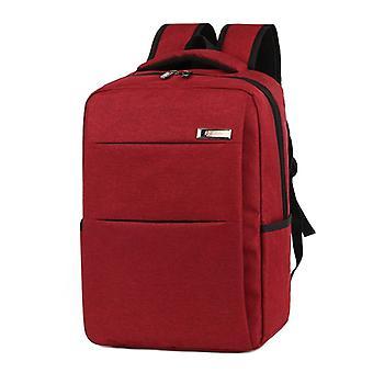 Stilvolle und geräumige Rucksack-rot