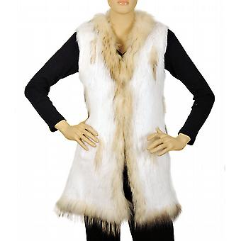 Waooh - Fur - Gilet rabbit and racoon
