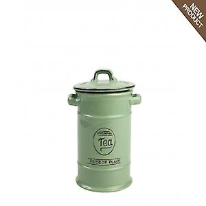 Pride Of Place Tea Jar In Old Green 10500