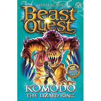 Komodo the Lizard King by Adam Blade - 9781408307236 Book