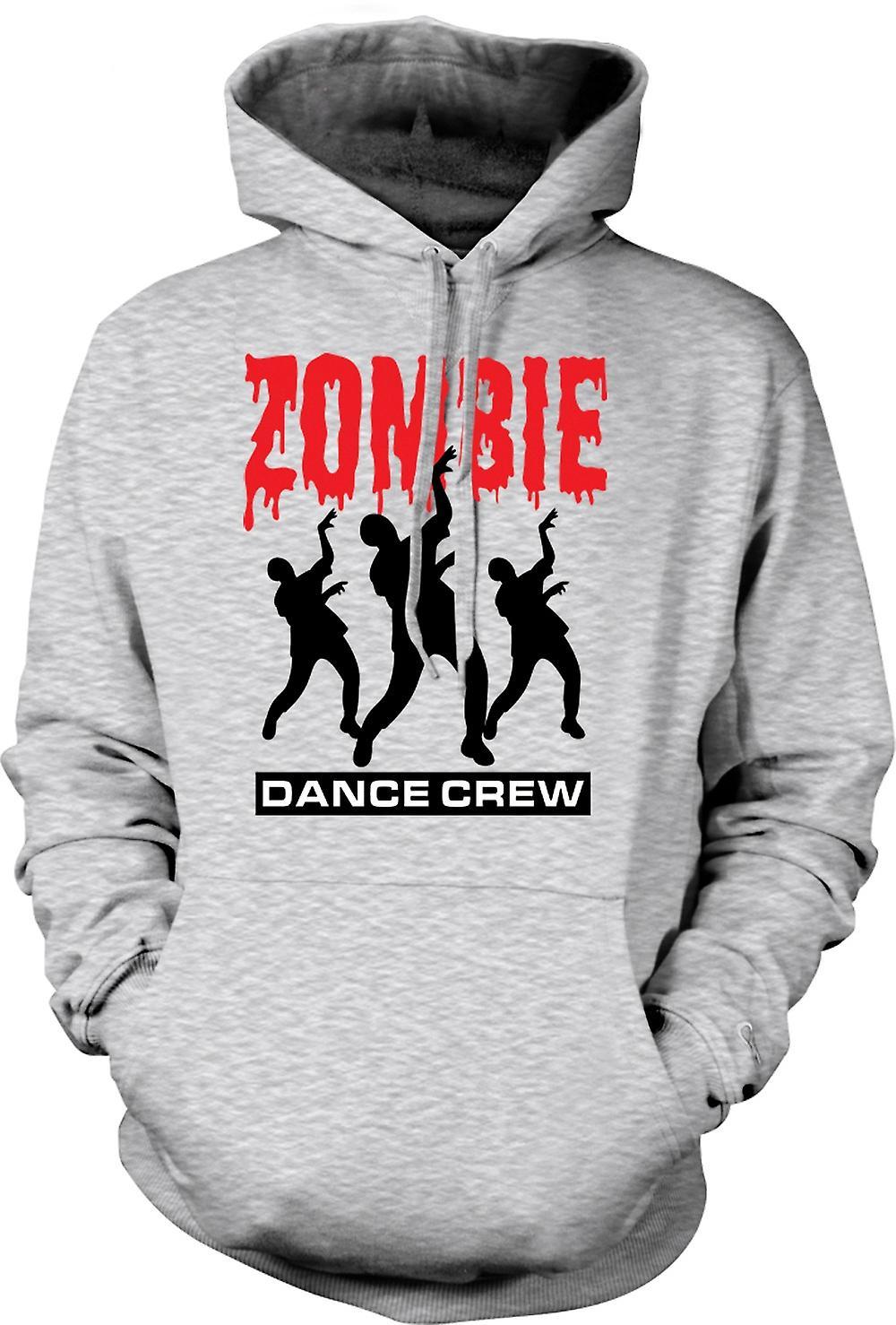 Mens Hoodie - Zombie Dance Crew - grappige Horror