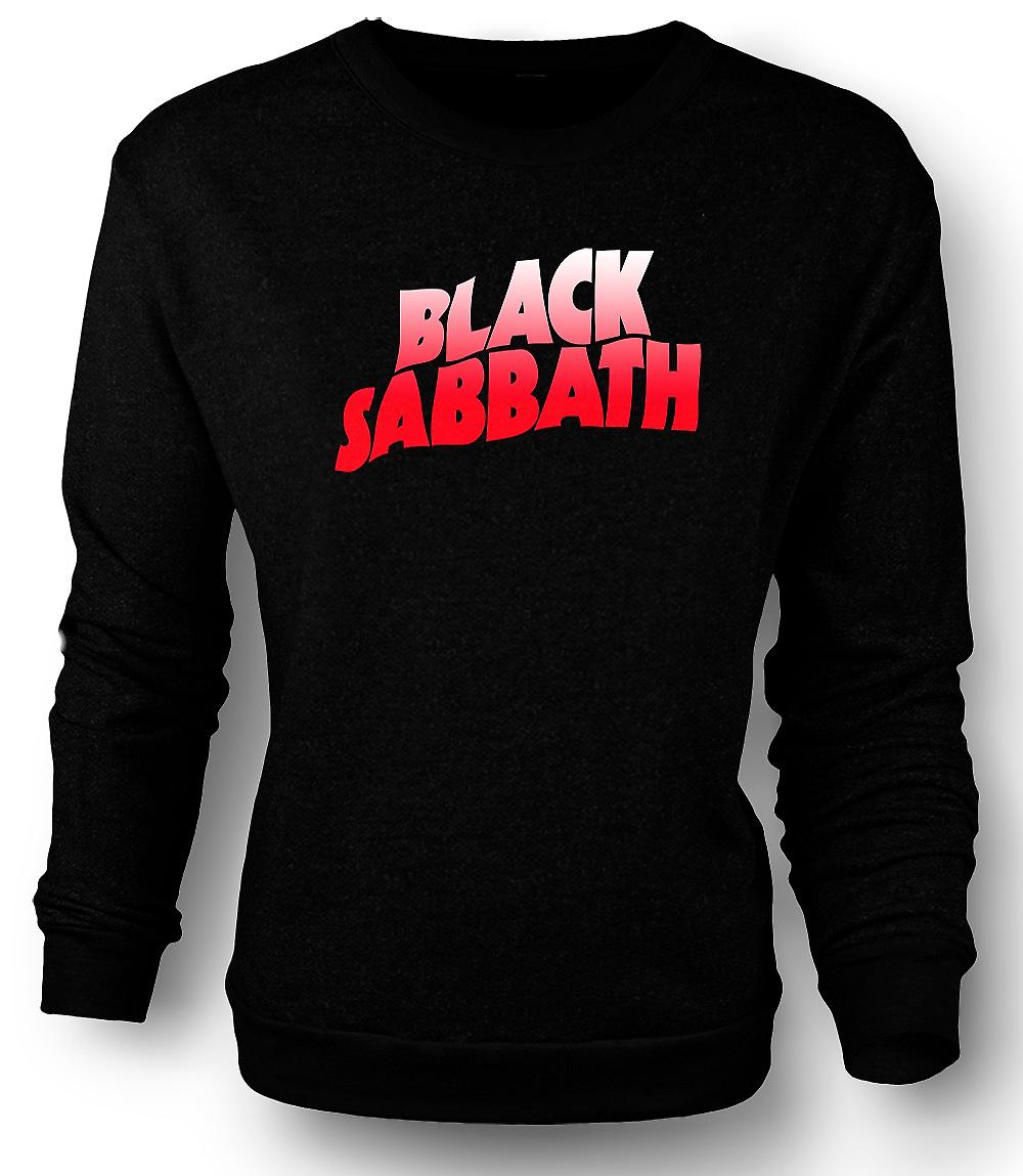 Mens Sweatshirt  Sabbath - Heavy Metal Logo