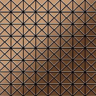 Metal mosaic Titanium ALLOY Deco-Ti-AB