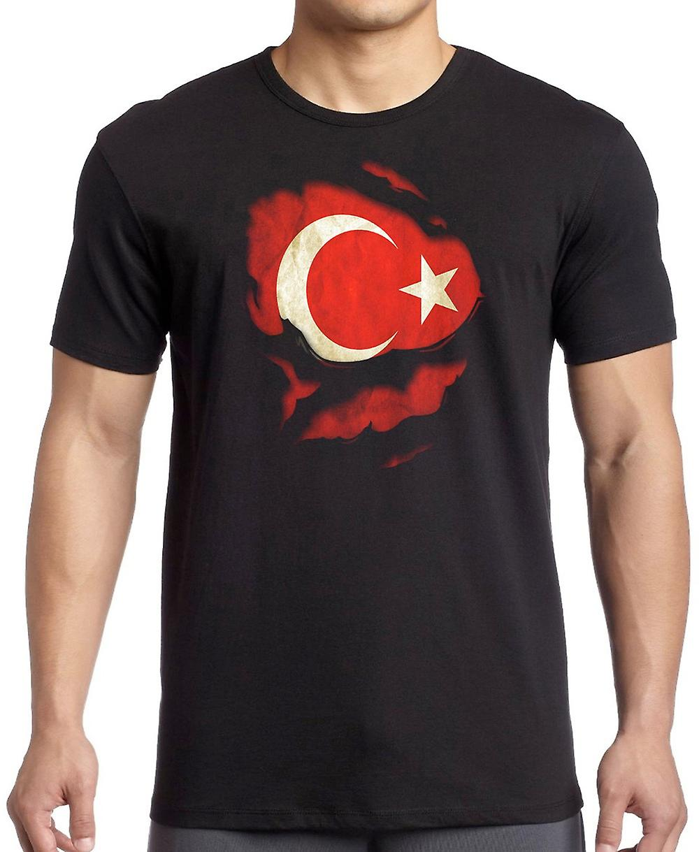 Turkey Ripped Effect Under Shirt T Shirt