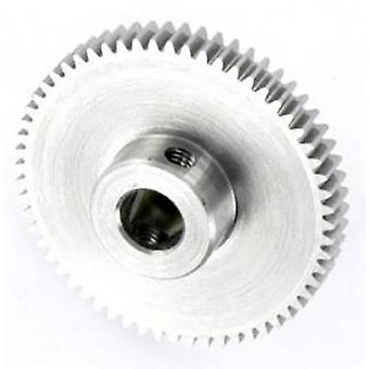 Steel Spur gear Reely Module Type: 0.5 Bore diameter: 6 mm No. of teeth: 60