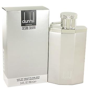 Desire Silver London by Alfred Dunhill Eau De Toilette Spray 3.4 oz / 100 ml (Men)
