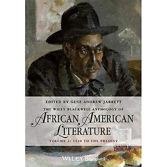Wiley-Blackwell Anthology Afroamerikansk litteratur: 1920 til i dag v. 2 (Blackwell antologier)