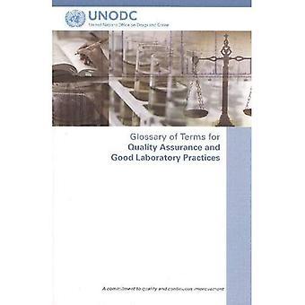 Verklarende woordenlijst van termen voor Quality Assurance en globale laboratoriumpraktijken: een toewijding aan kwaliteit en voortdurende verbetering
