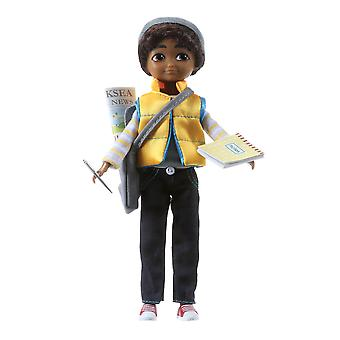 Lottie Doll Junior Reporter Sammi Finn - Boy -Brown Hair And Brown Eyes
