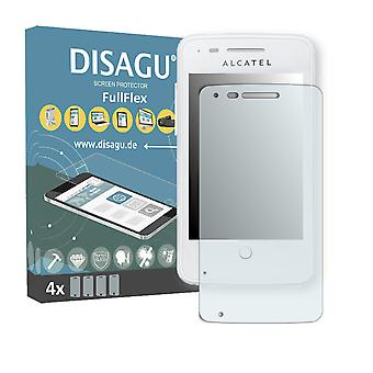 Alcatel one touch fire 4012 X screen protector - DISAGU FullFlex protector