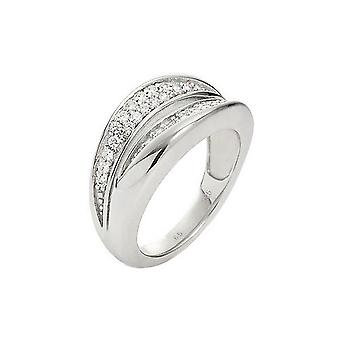 Fossil ladies silver JFS00037040 ring