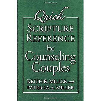 Snabb skriften referens för rådgivning par