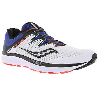 Saucony shoes athletic men's running shoes guide ISO white