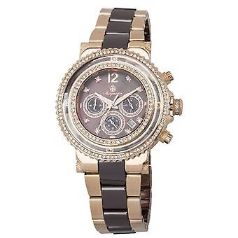 Burgmeister-BM215-398-Armbanduhr, rostfreier Stahl, Farbe: Rosa