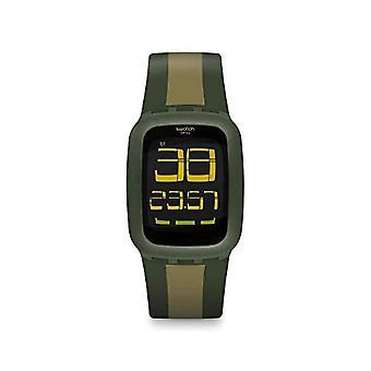 Swatch Quartz digital watch Unisex Adult Silicone wrist watch SURG101D