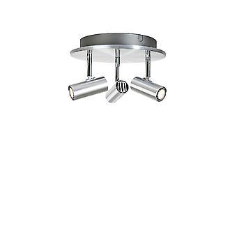 Belid - Cato Triospotlight a LED in alluminio finitura 676411