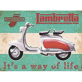 Lambretta Way Of Life fridge magnet  (og)