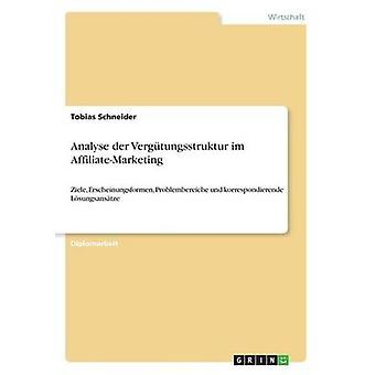 Analyse der Vergtungsstruktur im AffiliateMarketing by Schneider & Tobias