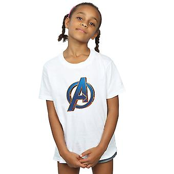 Marvel Girls Avengers Endgame Heroic Logo T-Shirt