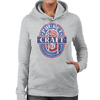 Phuket Craft Ale Women's Hooded Sweatshirt