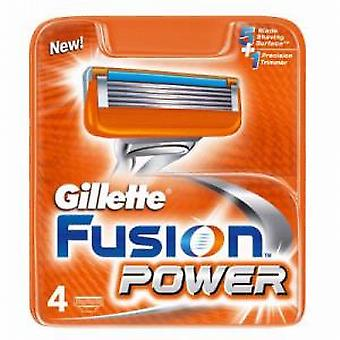 Gillette Fusion Power Blade Patronen (4 X)