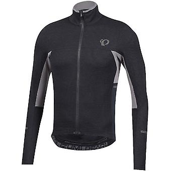 Pearl Izumi Black-Smoked Pearl Pro Escape Thermal Long Sleeved Cycling Jersey