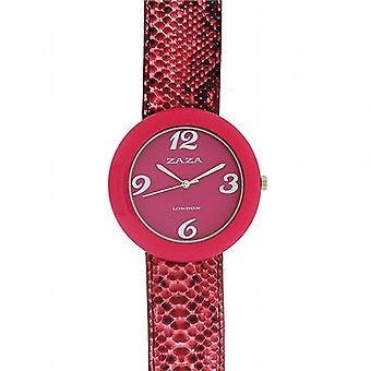 Zaza Londra coccodrillo effetto quadrante rosa Ladies Fashion Watch LLB855