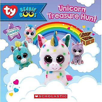 Unicorn Treasure Hunt (Beanie Boos: Storybook with Stickers) (Beanie Boos)