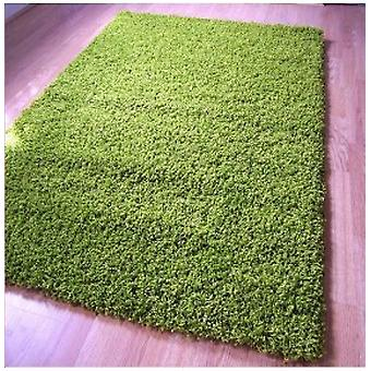 Rugs -Jazz Plain Shaggy - Apple Green