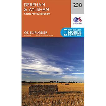 East Dereham and Aylsham by Ordnance Survey - 9780319244319 Book