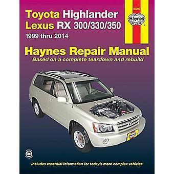 Toyota Highlander & Lexus RX300/330/350 Automotive Repair Manual - 199