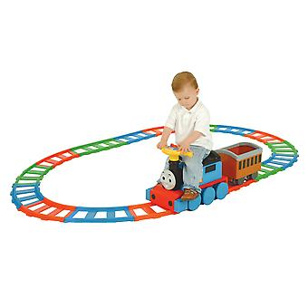 Thomas & Friends Battery Operated Train With 22 PC Track MV Sports Ages 1 Year+
