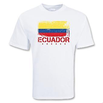 Ecuador-Fußball-T-Shirt