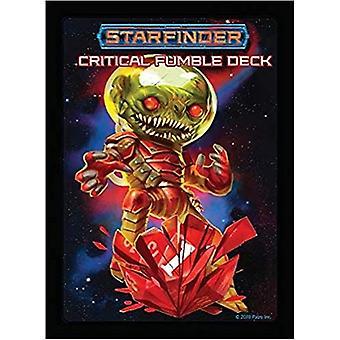 Starfinder kritisches Fumble Deck