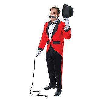 Bristol Novelty Unisex Adults Ring Master Costume