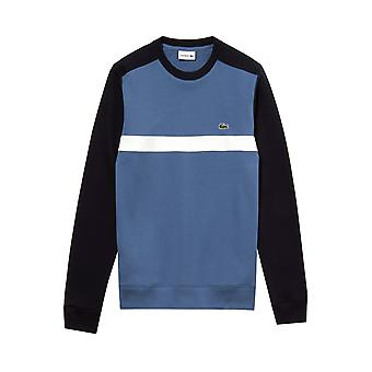 Camisola de colorblock Lacoste azul