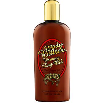 Body Butter Red Dark Warming Conditioning Tanning Oil For Legs - 180ml