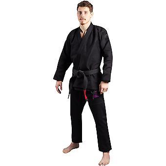 Scramble Athlete 4 Luxury 550gsm+ Brazilian Jiu-Jitsu Gi - Midnight Edition